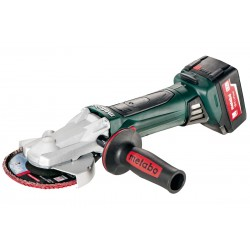 METABO 601306500 W 18 LTX 125 QUICK  CORDLESS FLAT HEAD ANGLE GRINDER