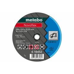 METABO 61645000 CUTTING DISCS STEEL NOVOFLEX 180X3.0X22.23