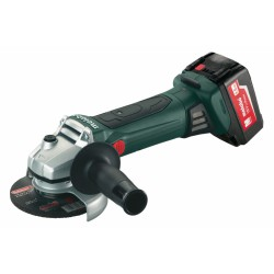 METABO 602174610 W 18 LTX 125 QUICK CORDLESS ANGLE GRINDER