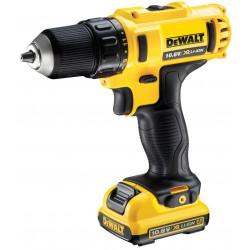 DeWALT DCD710D2 2 x 2.0 Ah 10.8 V Li-Ion Compact Drill Driver