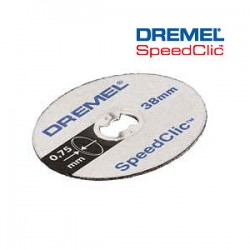 DREMEL EZ SpeedClic™: Thin Cutting Wheels 5-Pack. (SC409)