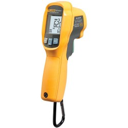 Fluke 62 Max + IR Thermometer , Double Lazer