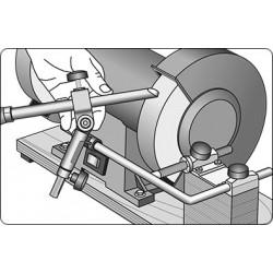 Mounting set for bench grinder